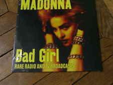 MADONNA Bad girl LP Rare radio & tv broadcasts