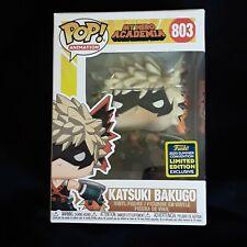 Funko Pop! Katsuki Bakugo 803 -  2020 SDCC Shared Exclusive  - MHA