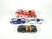 Jada Bigtime Muscle 1/64 Diecast Shelby Cobra LOT w/ Hauler Loose Lot