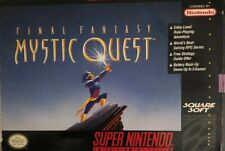 New Final Fantasy:Mystic Quest(Super Nintendo Entertainment System,1992)RARE