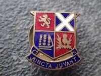 Enamel Badge,  P.J. King  Juncta Juvant School Badge