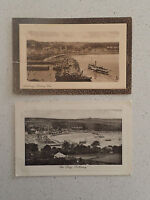 Set of Two Vintage Postcards with stamp - Rothesay (82,83)