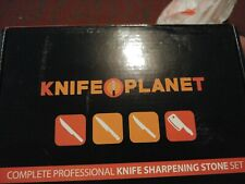 Knife Planet Complete Professional Knife Sharpening Stone Set