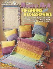 Noah's Ark Afghans & Accessories Crochet Instruction Patterns Baby Children NEW
