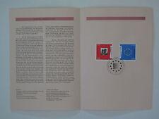 (95j14) Bund Erinnerungsblatt 1995 ESST Mi.Nr. 1790-1091 Europa Frieden Freiheit