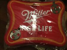 Miller High Life Beer BBQ Grill - Rare Logo Shaped Table Top Tailgate Lite