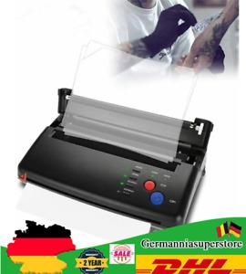 A4 Tattoo Drucker Thermal Tattoo Stencil  Kopierer Printer Thermal Transfer