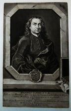 1744 Lami Lamius Giovanni Genua Florenz Schabkunst-Porträt Haid Feretti