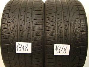 2 x Winterreifen Pirelli Winter 240 SottoZero s2  295/30 R20, 97V,NO,M+S.6,5mm