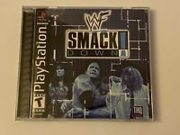 🔥WWF SMACKDOWN! THE ROCK PS1 PlayStation 1 PSX 💯COMPLETE MINT BLACK LABEL GAME