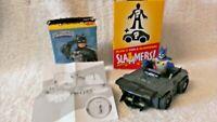 "Imaginext Slammers Batman  - Classic Batman & Batmobile DC Super Friends 2 1/2"""