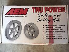 AEM 23-7008B Tru Power Underdrive Pulley Kit 94-01 Acura Integra (Non VTEC)