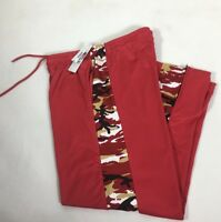 San Francisco 49 ERS men's Pants Red Camouflage Side Stadium Pants 2 Sizes M,S