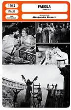 FICHE CINEMA : FABIOLA - Morgan,Vidal,Simon,Blasetti 1947