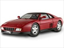 FERRARI 348 TS ELITE EDITION RED 1/18 DIECAST MODEL CAR BY HOTWHEELS X5480