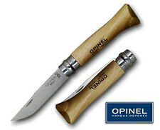 OPINEL 982 No6 12C27M STAINLESS  BLADE WALNUT HANDLE KNIFE