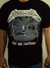Metallica Ride The Lightning T-Shirt Black XL NEW 809