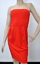 $1495 NEW Authentic Gucci Runway Dress Red, W/O Belt, sz M, 297345