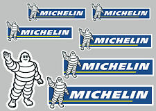 MICHELIN decal set 7 quality printed and laminated stickers