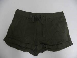 Roxy shorts Medium Sz 5 Warming Days Olive