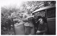 Foto deutscher Soldaten mit Auto BMW Nordkaukasus vor Mosdok (Terek) 1942