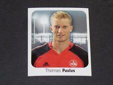 395 PAULUS 1. FC NÜRNBERG PANINI FUSSBALL 2006-2007 BUNDESLIGA FOOTBALL