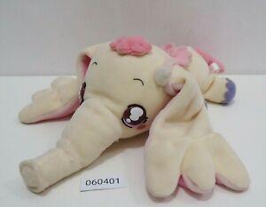 "Ojamajo Doremi 060401 PAO Chan Flying Elephant Bandai 2002 Beanie 10"" Plush"