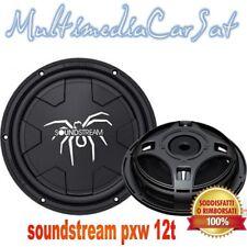 Soundstream pxw 12t subwoofer piatto