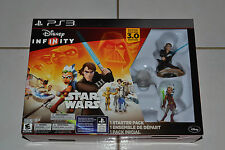 Disney Infinity Star Wars 3.0 Edition starter pack PS3 Brand NEW+POWER DISC PACK