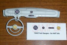 1949 FORD COUPE AND CONVERTIBLE GAUGE FACES! - for 1/25 scale AMT KITS