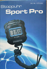 digitale Stoppuhr Multifunktion Taschenuhr Sport Uhr Wecker 01