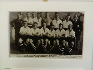 Amateur football team print  RAINHAM TOWN F.C.