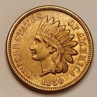1859 CN Indian Head Cent Grading AU Nice Coin Priced Right FREE S&H   i24