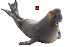 More details for elephant seal sea elephant sealife toy model 387208 by mojo animal planet new