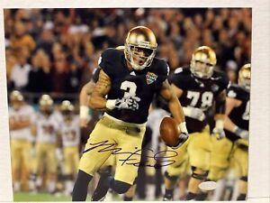 Michael Floyd Signed Notre Dame Fighting Irish 8x10 Photo Steiner