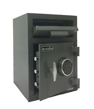 F2014E Southeastern Safe Front Drop Safe with Electronic Lock