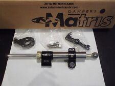 ammortizzatore di sterzo nero BMW R 1150 MATRIS DAMPERS made in Italy 3B2000
