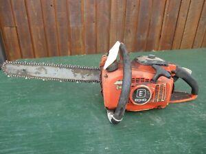 """Vintage ECHO 400EVL Chainsaw Chain Saw with 15"""" Bar"""