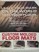 ; Part #FKPB5B MINIMIZER Floor Mats; Peterbilt; 357//378//379//385 May 2004 - Model Year 2005