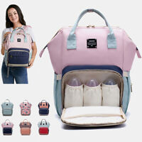 LEQUEEN Fashion Baby Diaper Bag Waterproof Mummy Maternity Nappy Travel Backpack