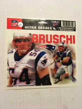 NEW/RARE - NFL ULTRA DECAL TED BRUSCHI NEW ENGLAND PATRIOTS WINDOW STICKER
