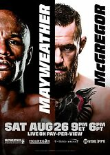 MAYWEATHER V  MCGREGOR BOXING MMA THE MONEY FIGHT PROMO POSTER
