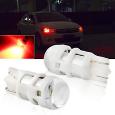 Brilliant Red 3535SMD T10 W5W 2825 LED Bulbs For Parking Lights (Position Lamps)