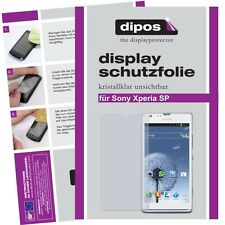 2x Sony Xperia SP Protector de Pantalla protectores transparente