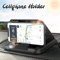 Carbon Fiber Car Universal Dashboard Car Mount Holder For Cell Phone iPhone GPS