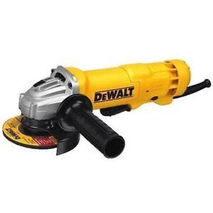DEWALT DWE402N 4-1/2-Inch 11-Amp Paddle Switch Angle Grinder - NO LOCK - NEW