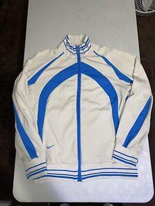 NIKE 6.0 Full Zip Warm Up Track Jacket Blue Mens SMALL