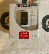 Polar A360 Fitness Tracker with Wrist Heart Rate Monitor White Medium