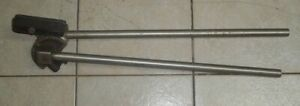 "Parker Hand Pipe Bender 26"" # 10 Electrical - Plumbing Shop Tool"