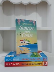 Collection of 3 x Paperback Books Modern Romance Lilac Mills Sunrise on the NEW